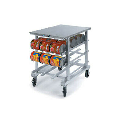 Lakeside 338 Welded Aluminum Counter Height Mobile Can Storage Rack