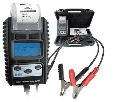 Automotive Battery Tester & Starting System Analyzer With Printer - Dhc Rt777