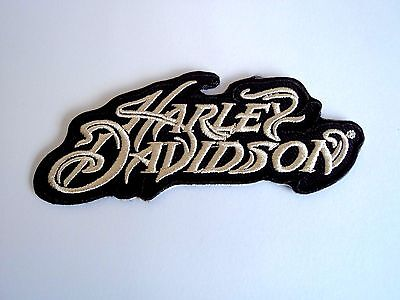 1x Harley Biker Patches Embroidered Cloth Patch Applique Badge Iron Sew On