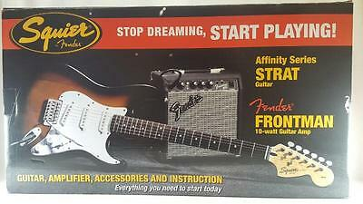 FENDER Squier Affinity Stratocaster Electric Guitar Pack (PB1006426)