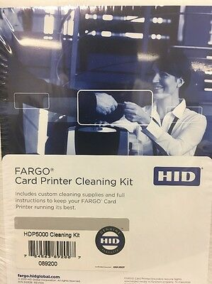 Fargo 89200 Hdp5000 Cleaning Kit Cln, New