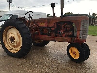1954 Massey Harris, 44 DR Diesel With 3 Point And Try-cycle Front End