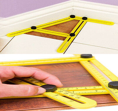 Angle-Izer Ultimate Tile & Flooring Template Tool Multi-Angle Ruler 2017