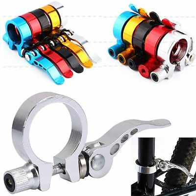 Alloy 31.8mm /34.9mm MTB Bike Cycling Saddle Seatpost Clamps Quick Release New