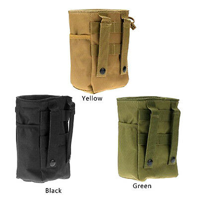 Outdoor Mountain Climbing Recycling Chalk Bag Pouch Waterproof Adjustable Belt L
