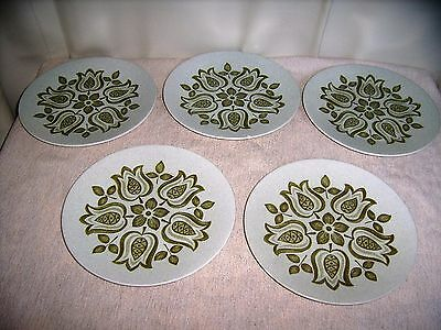 Maidstone J+G Meakin,Hanley Tulip time salad plates,9""