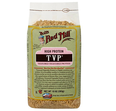 NEW Bob's Red Mill, TVP, Textured Vegetable Protein, 10 oz (283 g)