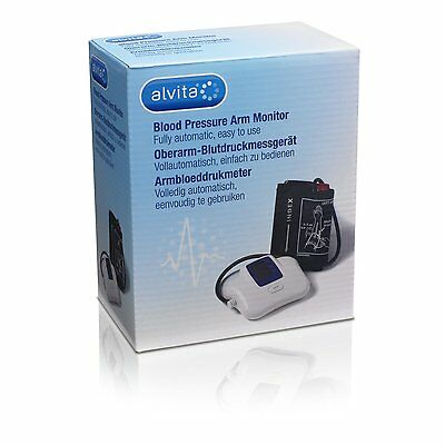 Alvita Blood Pressure Monitor MC101 (New)