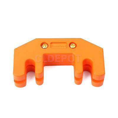 Orange Rubber Coated Heavy Metal Practice Mute Silencer for Cello & Viola