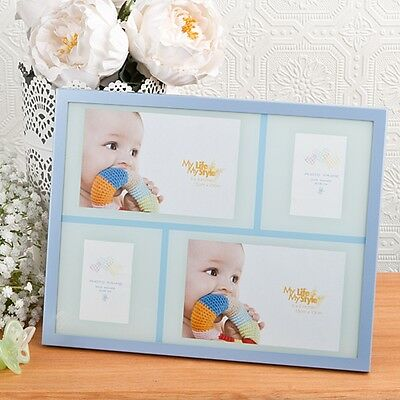 Baby Boy Collage Aluminum frame from Gifts By PartyFairyBox - Baby Shower Party