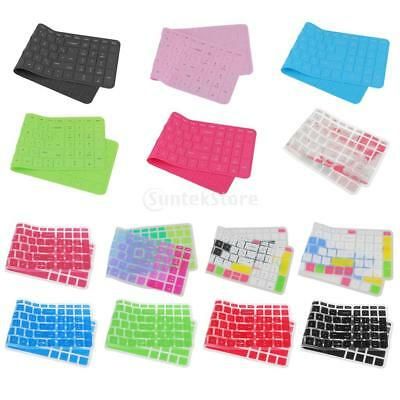 Silicone Thin Keyboard Skin Cover Protector for HP 15'' Laptop PC Notebook