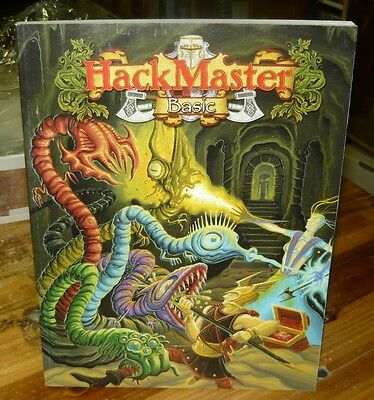 Hackmaster Basic RPG core book old style retro