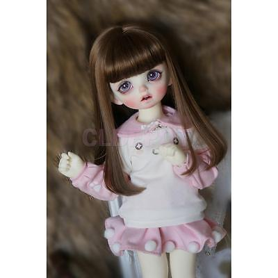 Cute Pullover Sweatshirt and Skirt Outfit for 1/6 BJD SD Doll Clothes ACCS