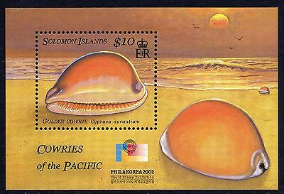 Solomon Islands 2002 10$ Cowry Shell SG MS1033 Miniature Sheet Unmounted Mint