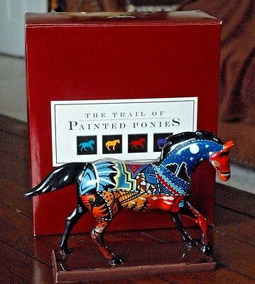 Trail of Painted Ponies Grandfather's Journey 2005 Horse Figurine 3E/1597 #1589