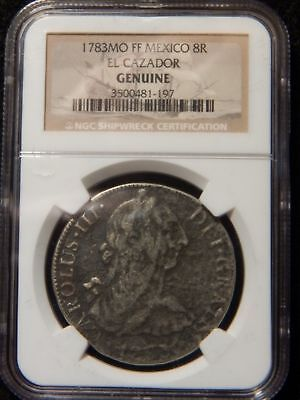 1783 MO FF Mexico 8 Reales NGC Certified ................................. RC393
