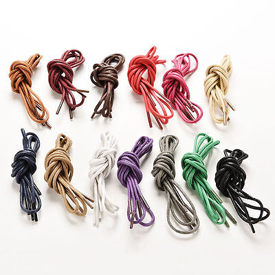 Round Shoelace 85cm | Shoe Lace For Sneakers Boot Athletic String In Many Colors
