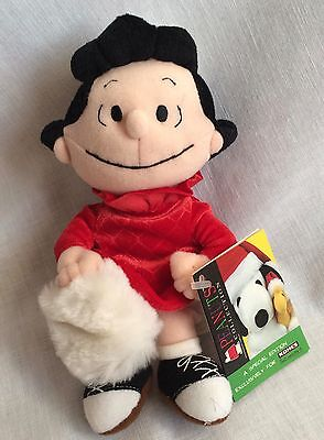 Lucy Peanuts Gang Dog by Applause Stuffed Plush New With Tags