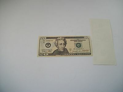 $20 Bill - Best Movie Prop Money - Fake Prank - Looks Real - Fast Shipping!