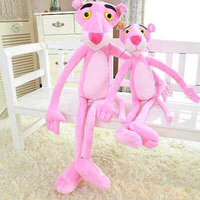 Cartoon Pink Panther Stuffed Animal Plush Baby Soft Toys Doll Kid's Gift 35Inch