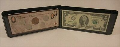 Lewis and Clark Commemorative Collection – 5 Coins and $2 Bill in folder