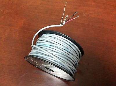 100' Shielded Stranded Red & Black 2 Conductor Speaker w/ Ground - Project Wire