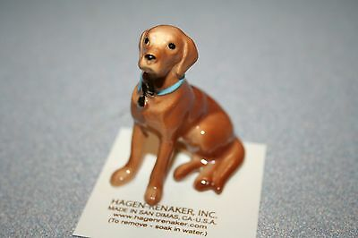 Hagen Renaker,Golden,Lab,Dog,Gift,Figurine,Brand New,2017,Miniature,Free Ship!!!