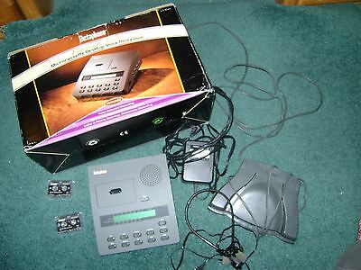 Dictaphone Professional Series  3750 With Foot Pedal, Power Supply, Headphones