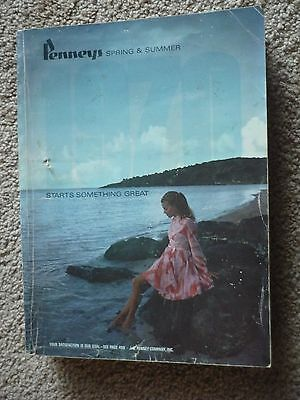 Vintage 1970 JCPenney, Penneys Spring & Summer Department Store Catalog