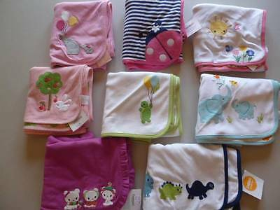GYMBOREE Reversible Baby Girl Boy Unisex Blanket 3 Styles UPick NEW