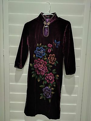 Qipao Cheong-sam Handmade Chinese Asian Oriental Style Women's Bling Dress