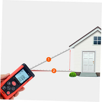 Laser Distance Meter 0.05-40m 60m 80m 100m  Digital Range Finder Measure Tool TM