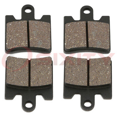 Front Organic Brake Pads 2003-2006 Suzuki AN400S Burgman Type S Set Full Kit ri