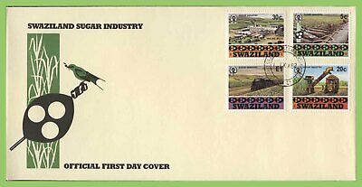 Swaziland 1982 Sugar Industry set on First Day Cover
