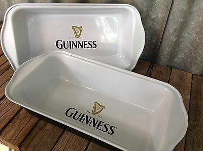 2x GUINNESS BEER BAKING DISHES