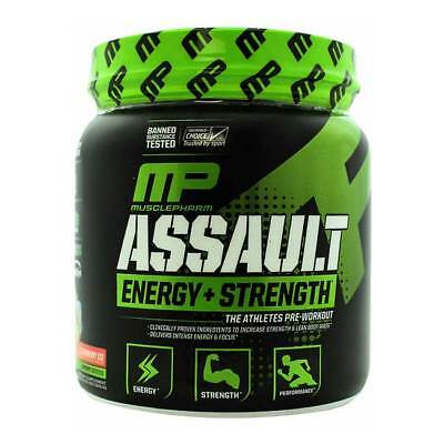 MusclePharm - Assault Sport Series - 345g, Pre-Workout Booster Amino BCAA