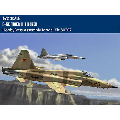 HobbyBoss 80207 1/72 Scale F-5E Tiger II Fighter Plastic Assembly Aircraft Mode