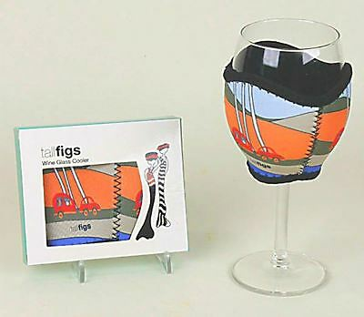 Tall Figs Caravan Neoprene Wine Glass Cooler