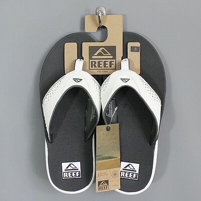 Reef Men's Fanning Sandals Grey / White
