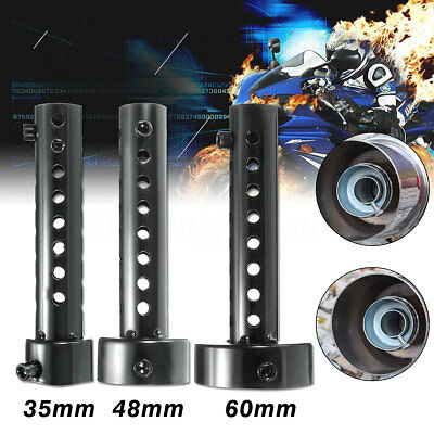 35mm 48mm 60mm universal Motorcycle Exhaust Muffler Insert Baffle Can Removable