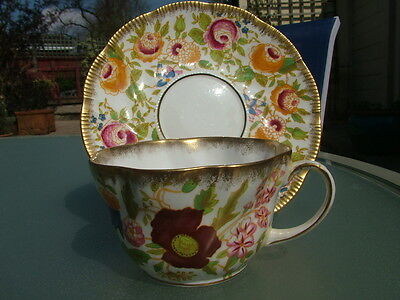 Hammersley QUEEN ANNE large breakfast cup and saucer_V2