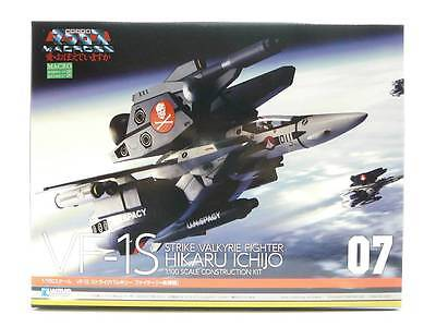 VF-1S Strike Valkyrie Fighter Hikaru Ichijo - MACROSS - WAVE 1/100 Model Kit #07