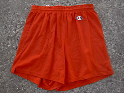 Champion Vintage 1970's 80's Athletic Mesh Gym Shorts Mens Womens  XL 40-42