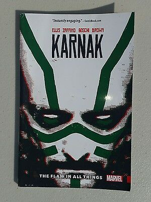 Marvel Comics Karnak Volume 1 The Flaw In All Things