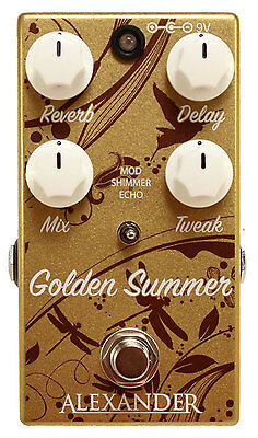 Alexander Pedals Golden Summer - Authorised Dealer! Brand New!