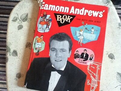 EAMON ANDREWS BOOK fro boys and girls 1950s - Crackerjack - unclipped