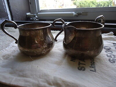 Vintage Towle Sterling silver sugar and creamer 5 Ozt