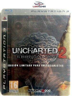 Uncharted 2 Reino Ladrones PS3 Playstation Nuevo Precintado Retro Sealed New SPA