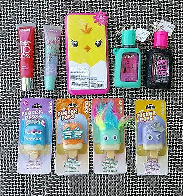 Lip Gloss Pucker Pops Anti-Bac Girls Gift Party Favors Treat Bag Easter NWT