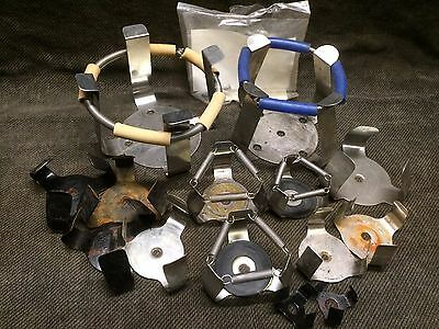 LOT 12 each Shaker Clamps Holders, clamp holder